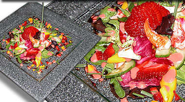 Lobster, Strawberry and Mango Salad
