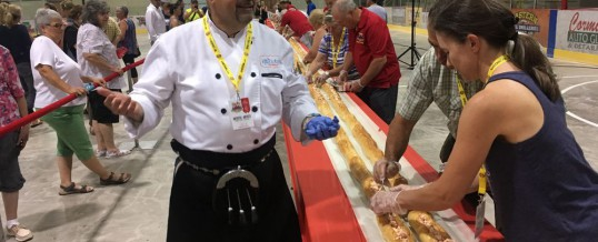 N.B. town reclaims title of having what it says is world's longest lobster roll